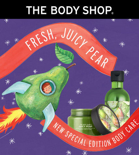 NEW Juicy Pear from The Body Shop