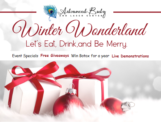 Winter Wonderland Event from Spa & Salon At Fig Garden