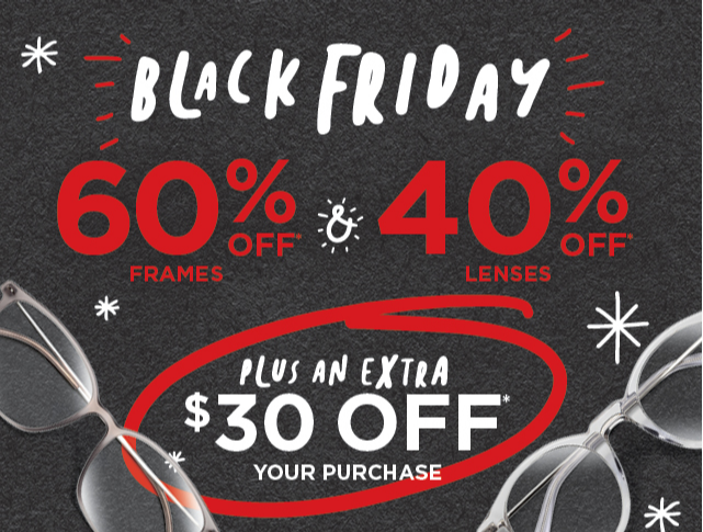 60% off frames, 40% off lenses &  more! from JCPenney