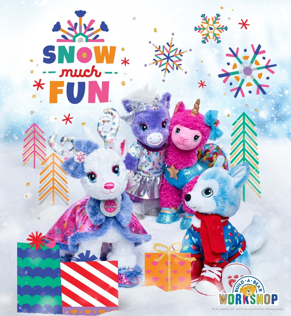 It's SNOW Much Fun Going on Adventures at Build-A-Bear Workshop! from Build-A-Bear Workshop