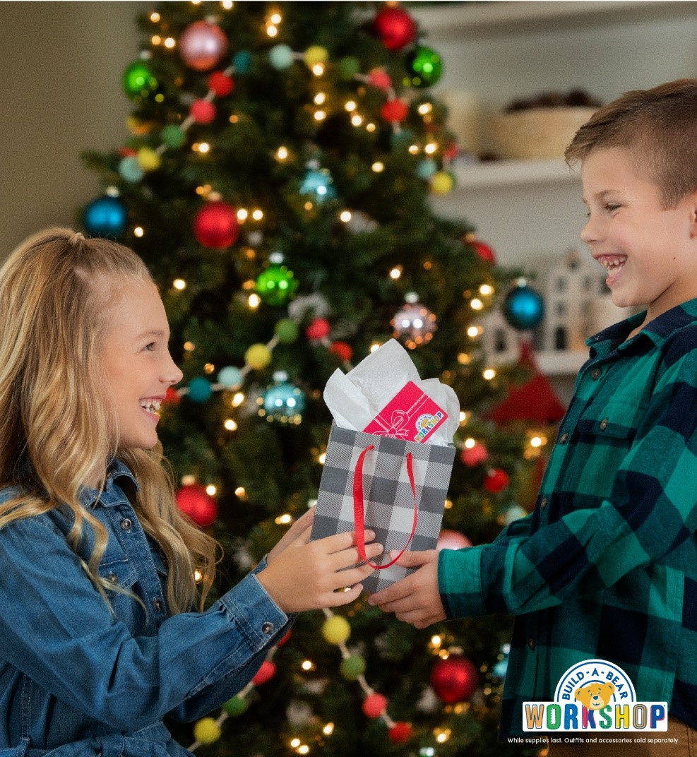 Merry Gifting! Shop Gifts with Heart at Build-A-Bear Workshop® and buildabear.com from Build-A-Bear Workshop