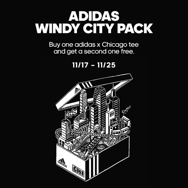 Exclusive Windy City Tee Offer from adidas