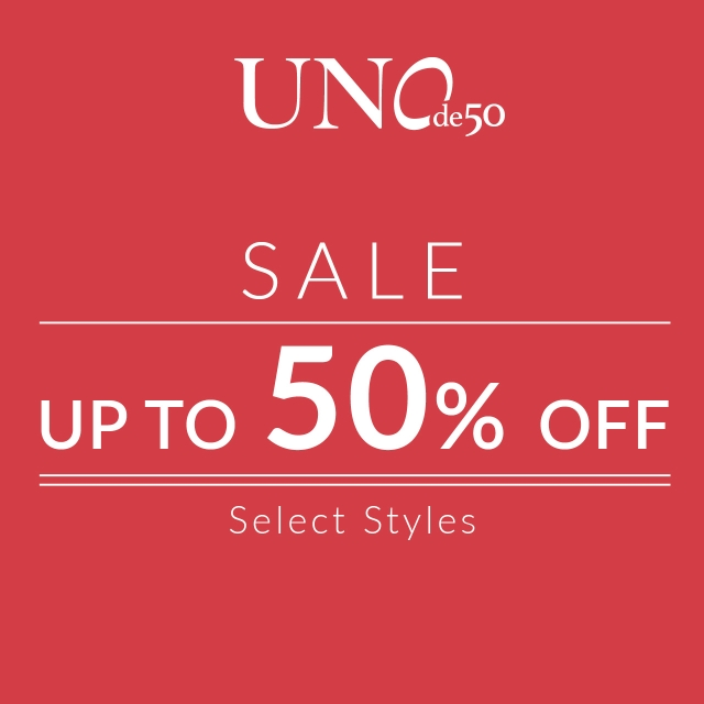 Black Friday - 50% off from Uno De 50