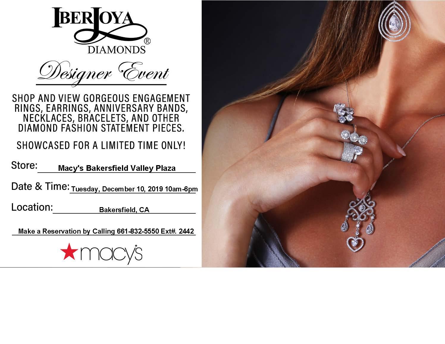 Macy's IberJoya Designer Event from macy's
