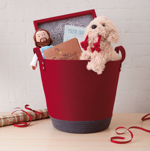 Holiday Felt Basket from Hallmark