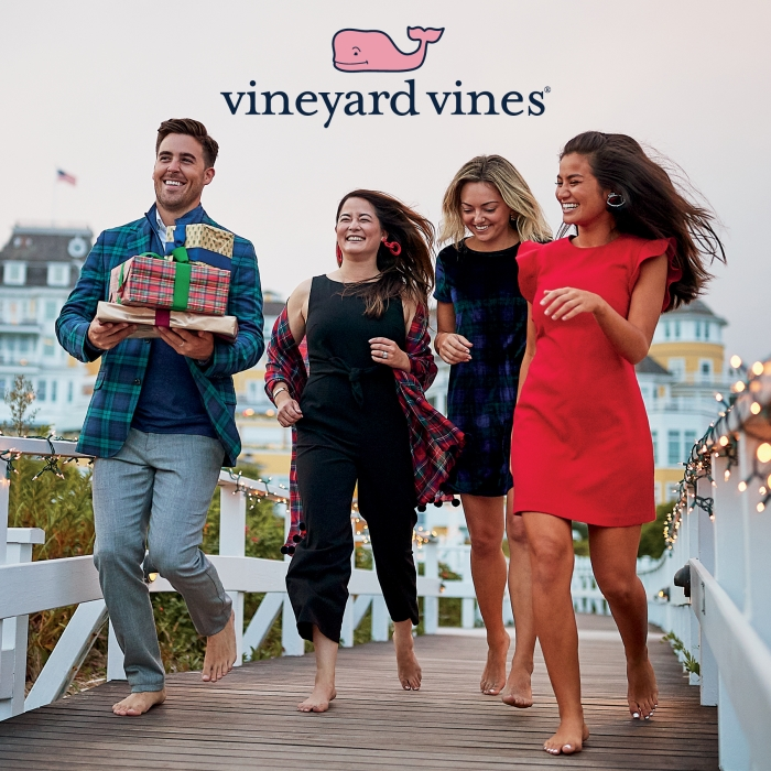 ​We have everything on their wishlist (and yours) from vineyard vines