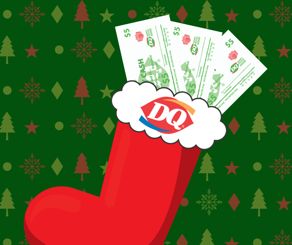 DQ Holiday Cash from Dairy Queen