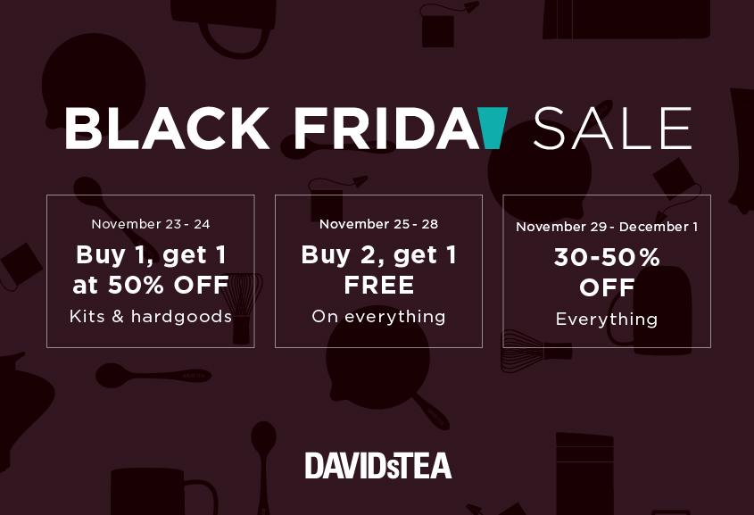 Black Friday Week from DAVIDsTEA