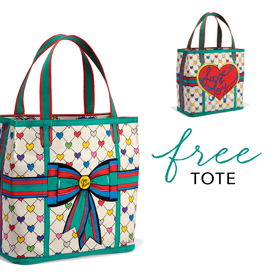 Love & Joy Designer Tote from Brighton Collectibles