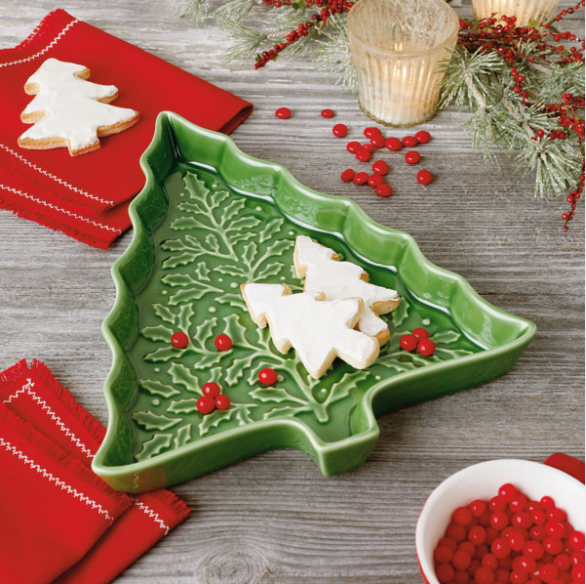 Tree Shaped Dish from Hallmark