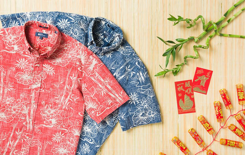 ねずみ年アロハシャツ from レイン・スプーナー