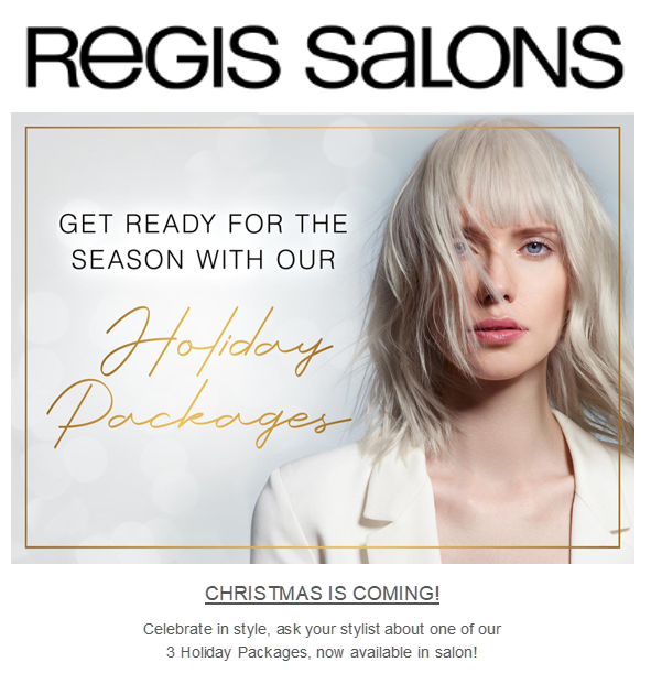 Get Ready for the Season from Regis Salon