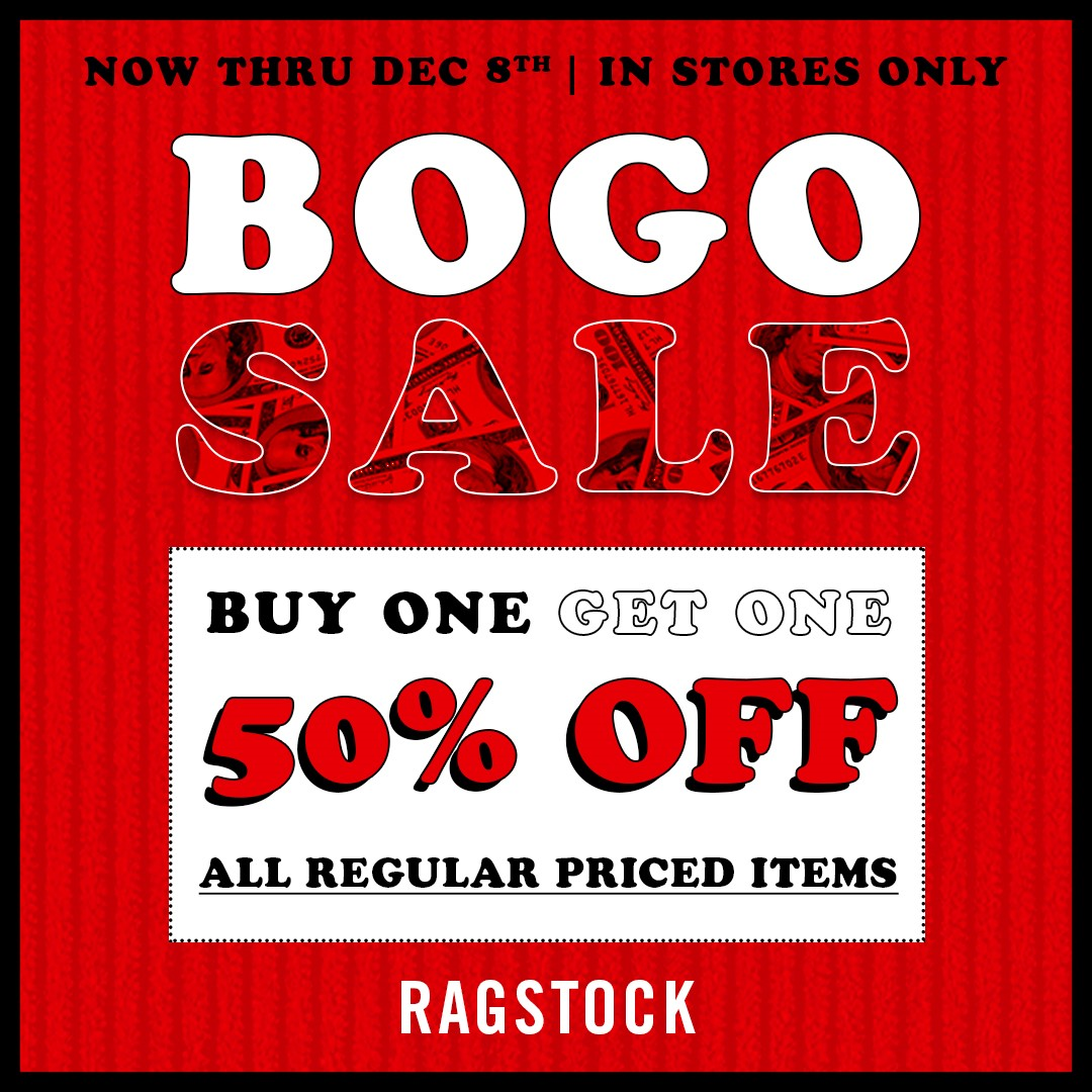 BOGO Sale from Ragstock