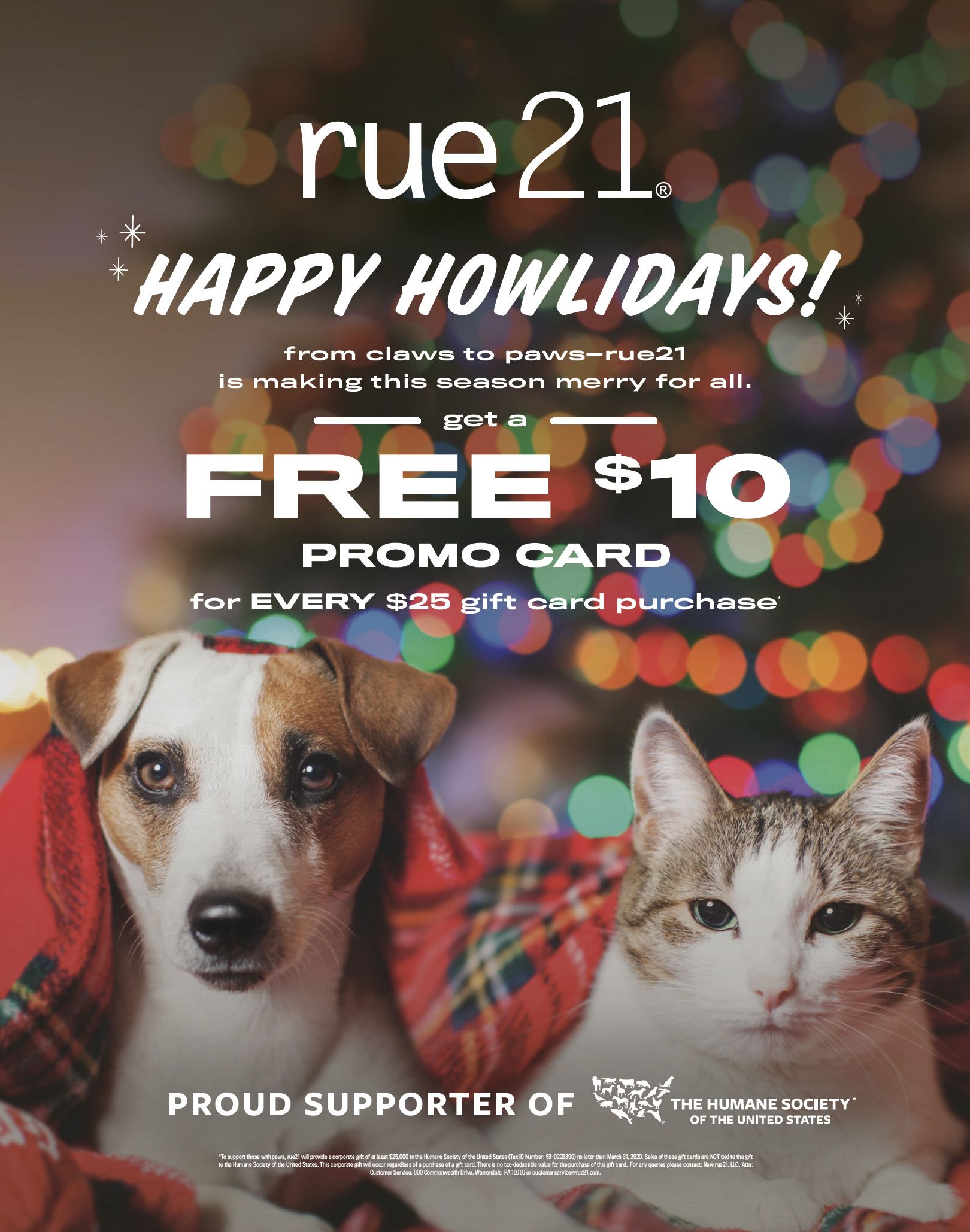 Happy Howlidays! from rue21