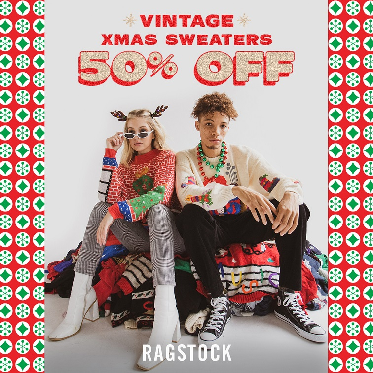 Vintage XMas Sweathers from Ragstock