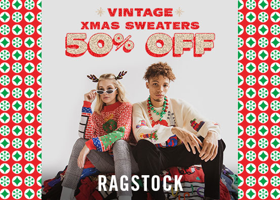 50% Off Vintage Holiday Sweaters!