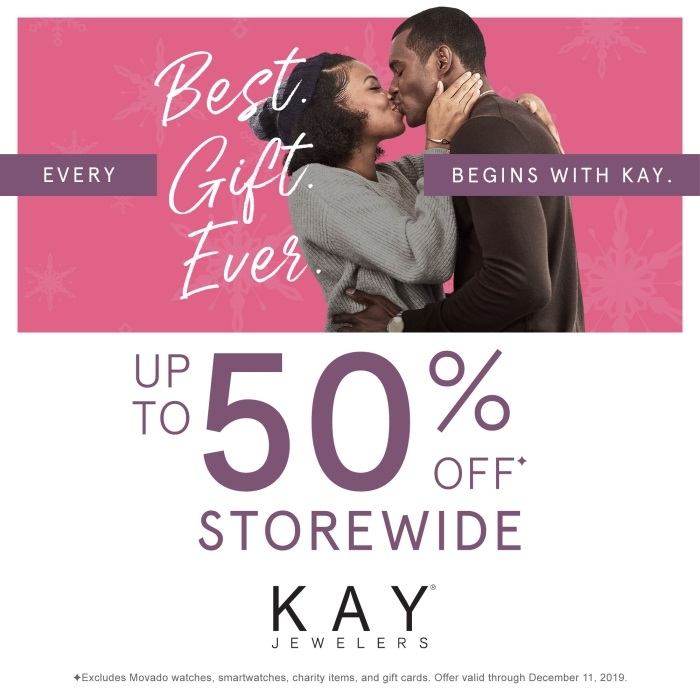 Up to 50% Off Storewide from Kay Jewelers