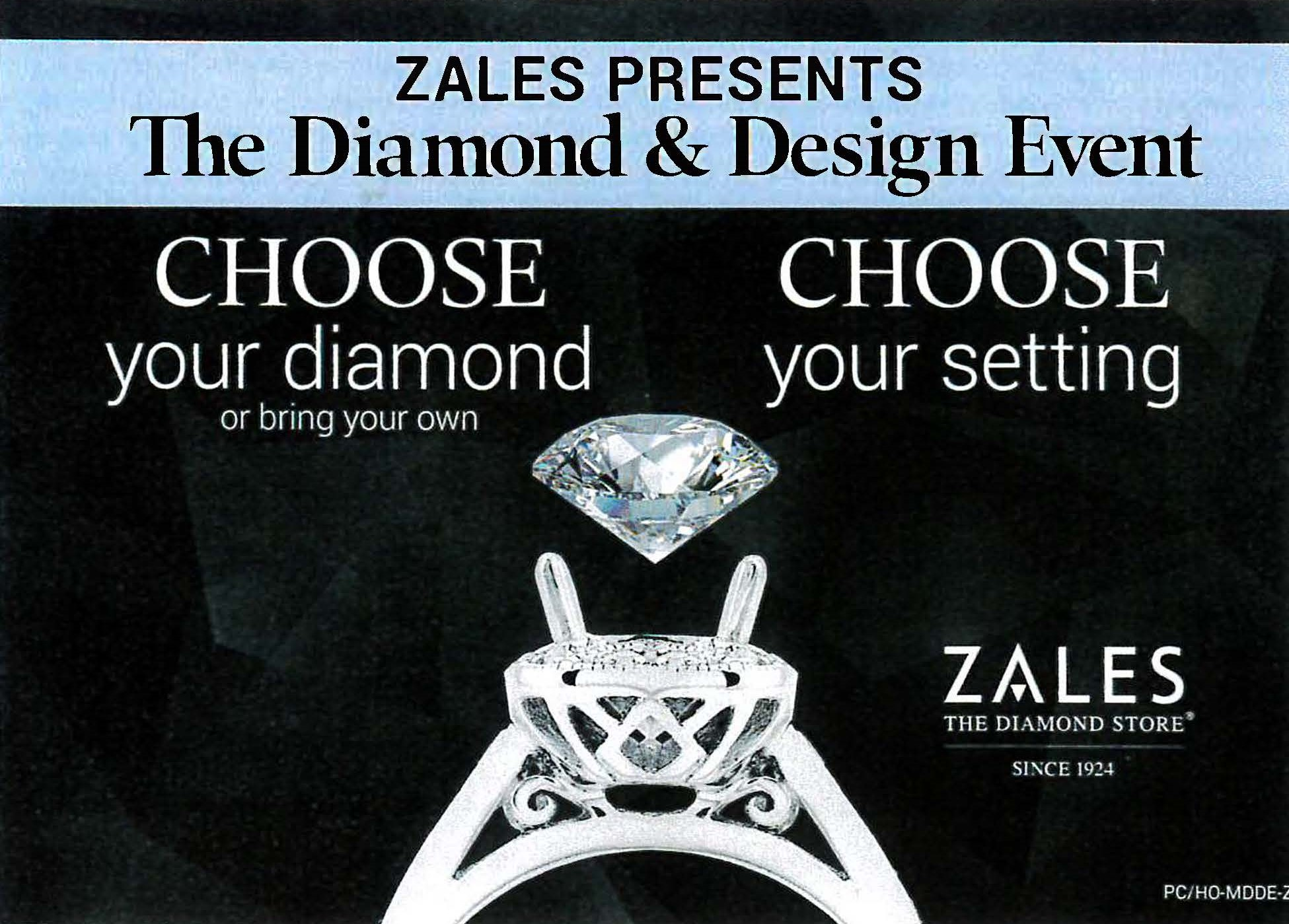 The Diamond & Design Event from Zales Jewelers
