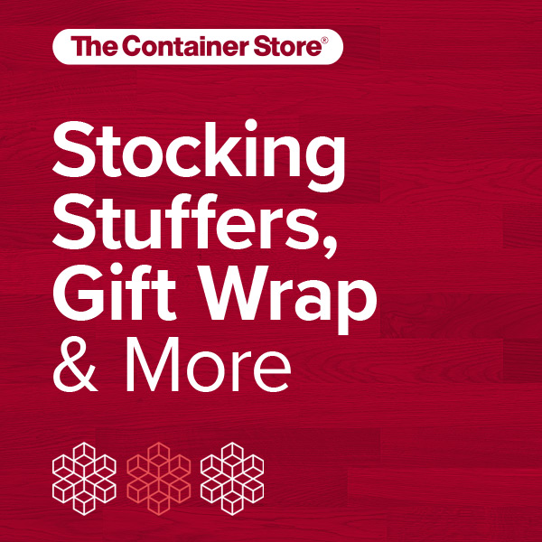 Holiday Shop is Open from The Container Store