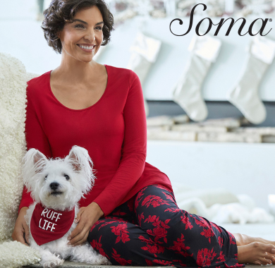 Cool Nights PJ Sets from Soma Intimates