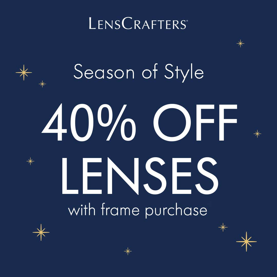 40% off Lenses