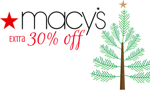 EXTRA 30% OFF! from macy's