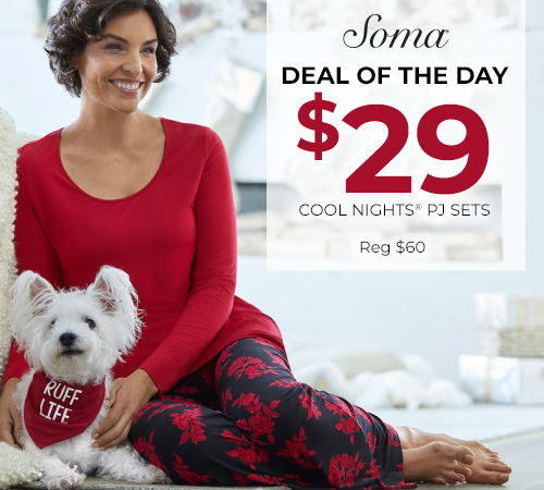 Tuesday Deal of theDay from Soma Intimates