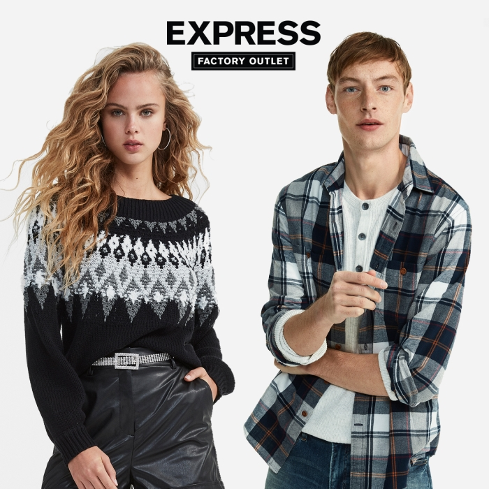 TWO DAYS ONLY! Everything 50% Off + Exclusive Doorbusters from Express