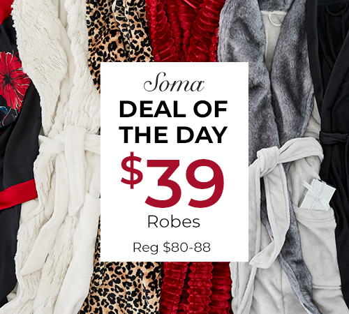 Wednesday Deal of the Day from Soma Intimates