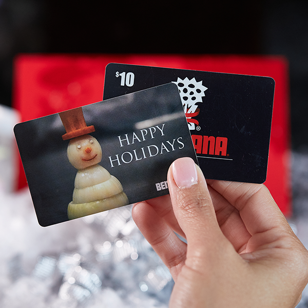 Holiday 2019 Gift Card Offer from Benihana