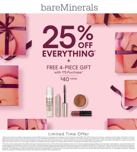 Limited Time Offer from bareMinerals