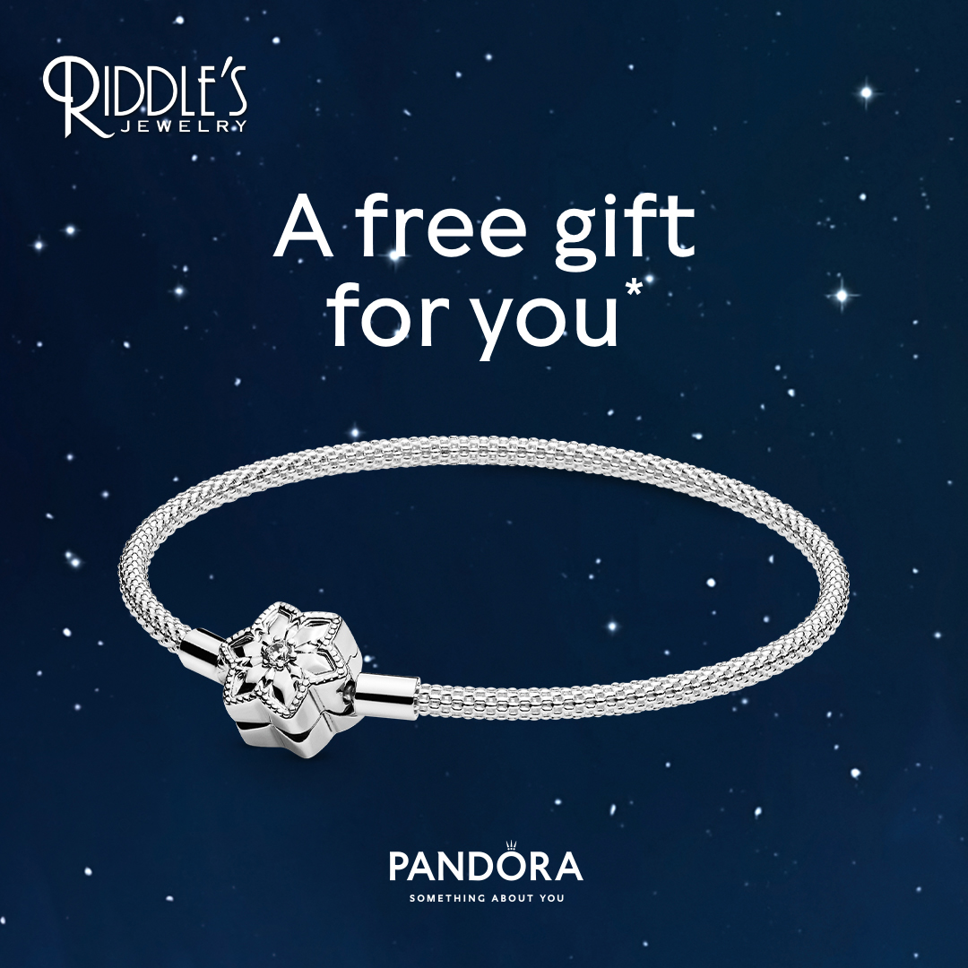 Pandora Free Bangle With Purchase from Riddle's Jewelry