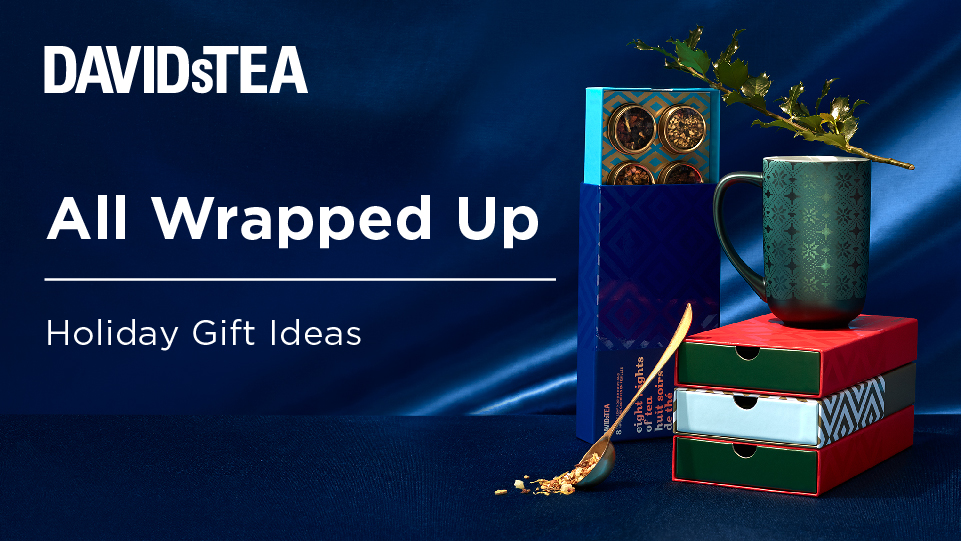 Holiday Gift Ideas from DAVIDsTEA