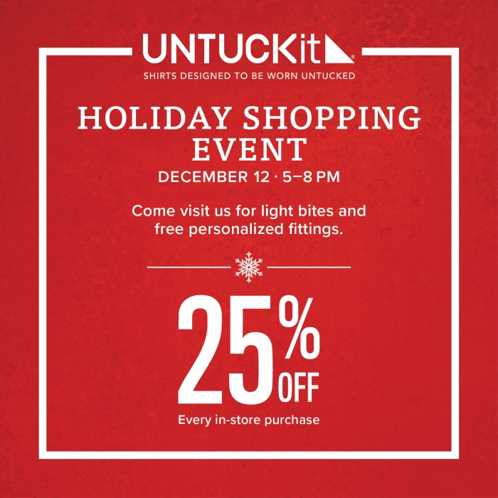 Get 25% Off from UNTUCKit