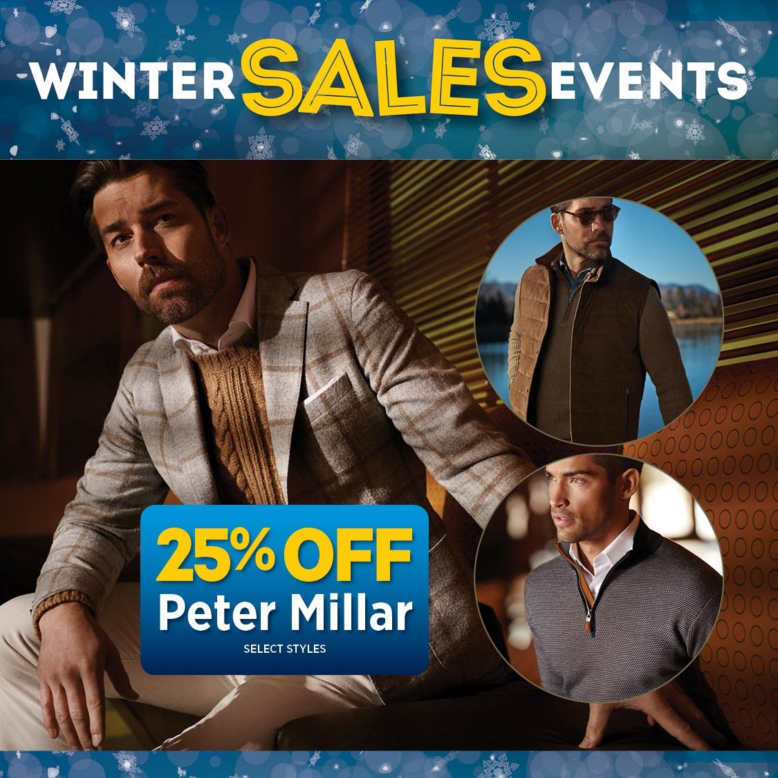 Save 25% Off select Peter Millar styles through Saturday! from Granger Owings