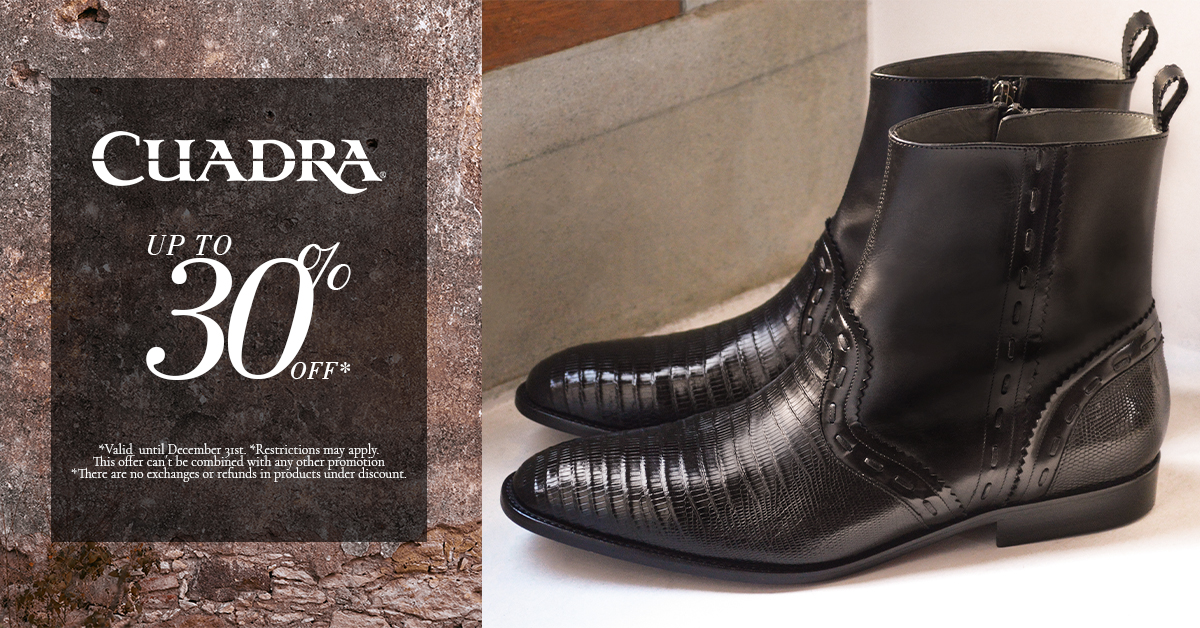 Get up to 30% off! from Cuadra