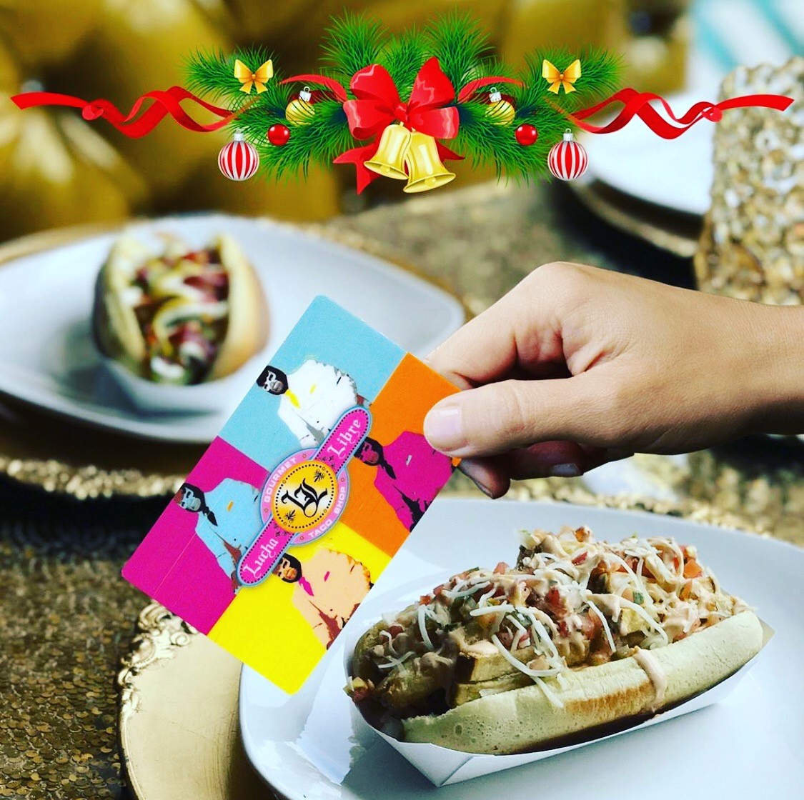 Free TJ Menu Item with Gift Card Purchase! from Lucha Libre Taco Shop