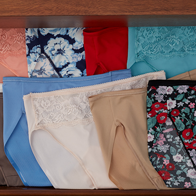 TODAY'S SPECIAL VALUE PANTY PACKS from Soma Intimates