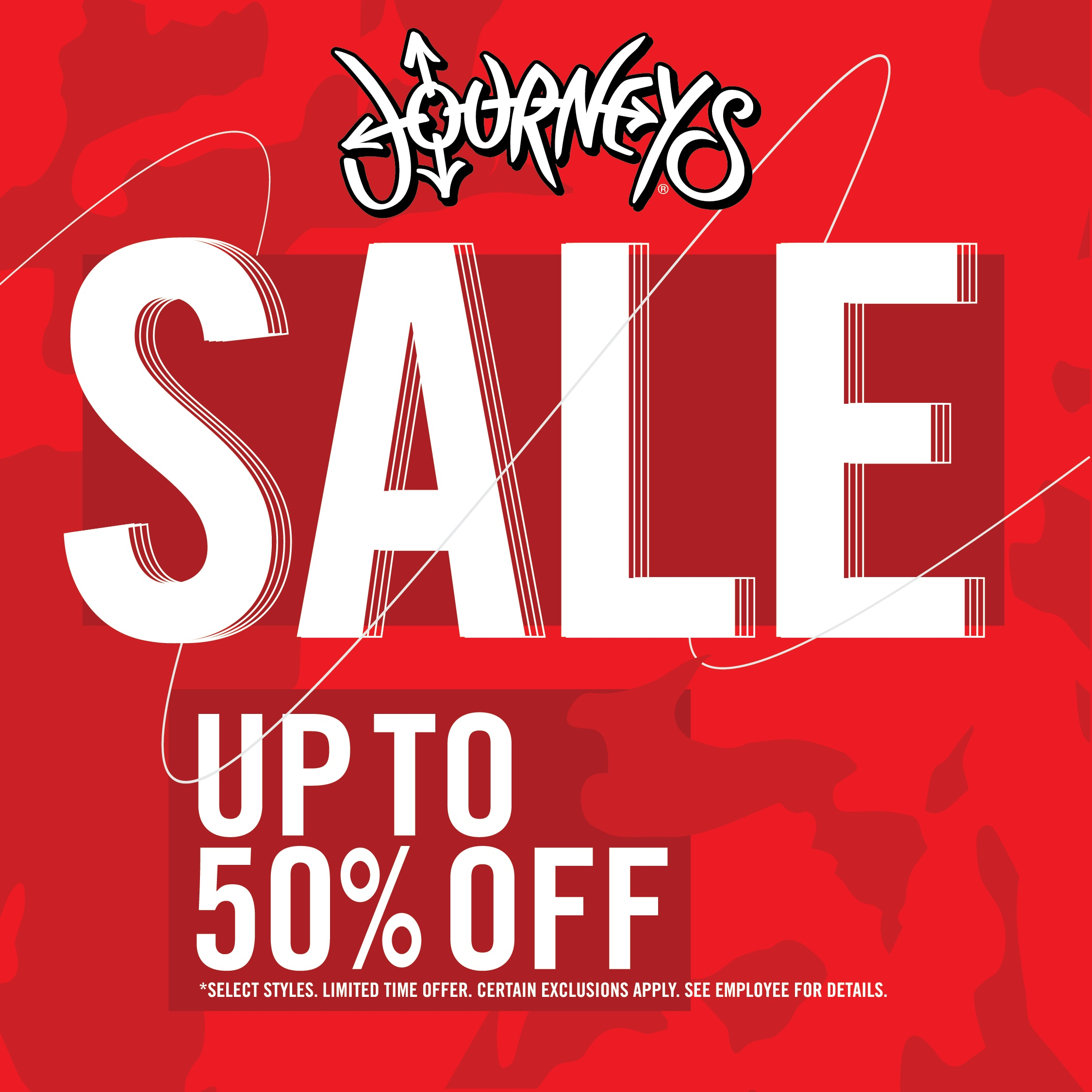 CLEARANCE SHOE SALE! from Journeys