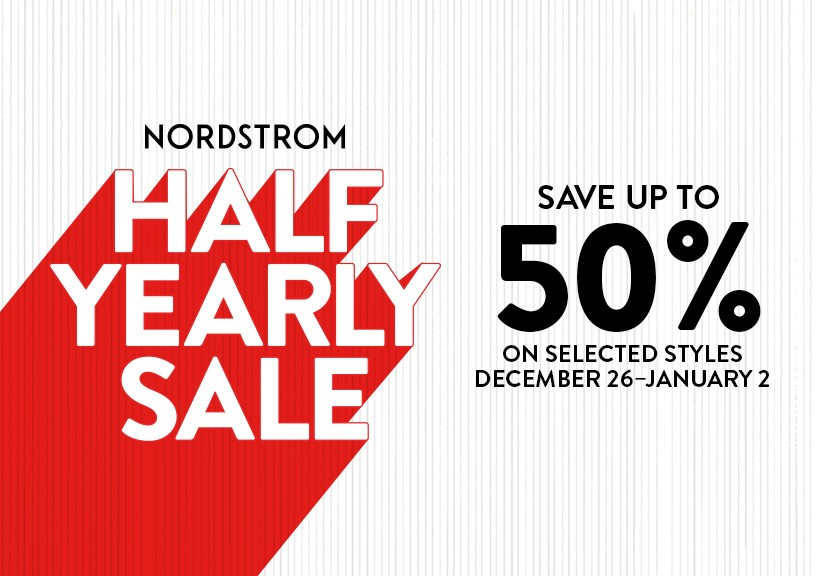 Nordstrom's Half Yearly Sale ! from Nordstrom