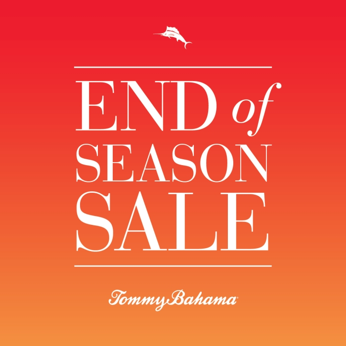 End of Season Sale from Tommy Bahama