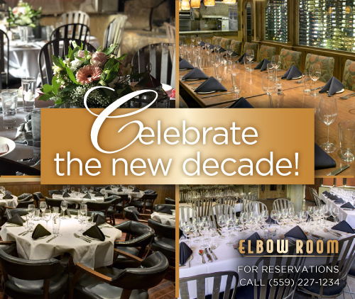 Celebrate the new Decade & Book an event at The Elbow Room!