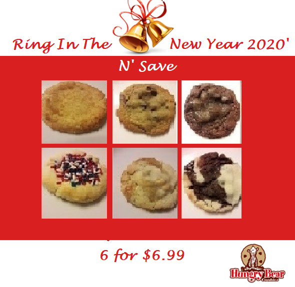 Ring in the New Year with 6 for $6.99!