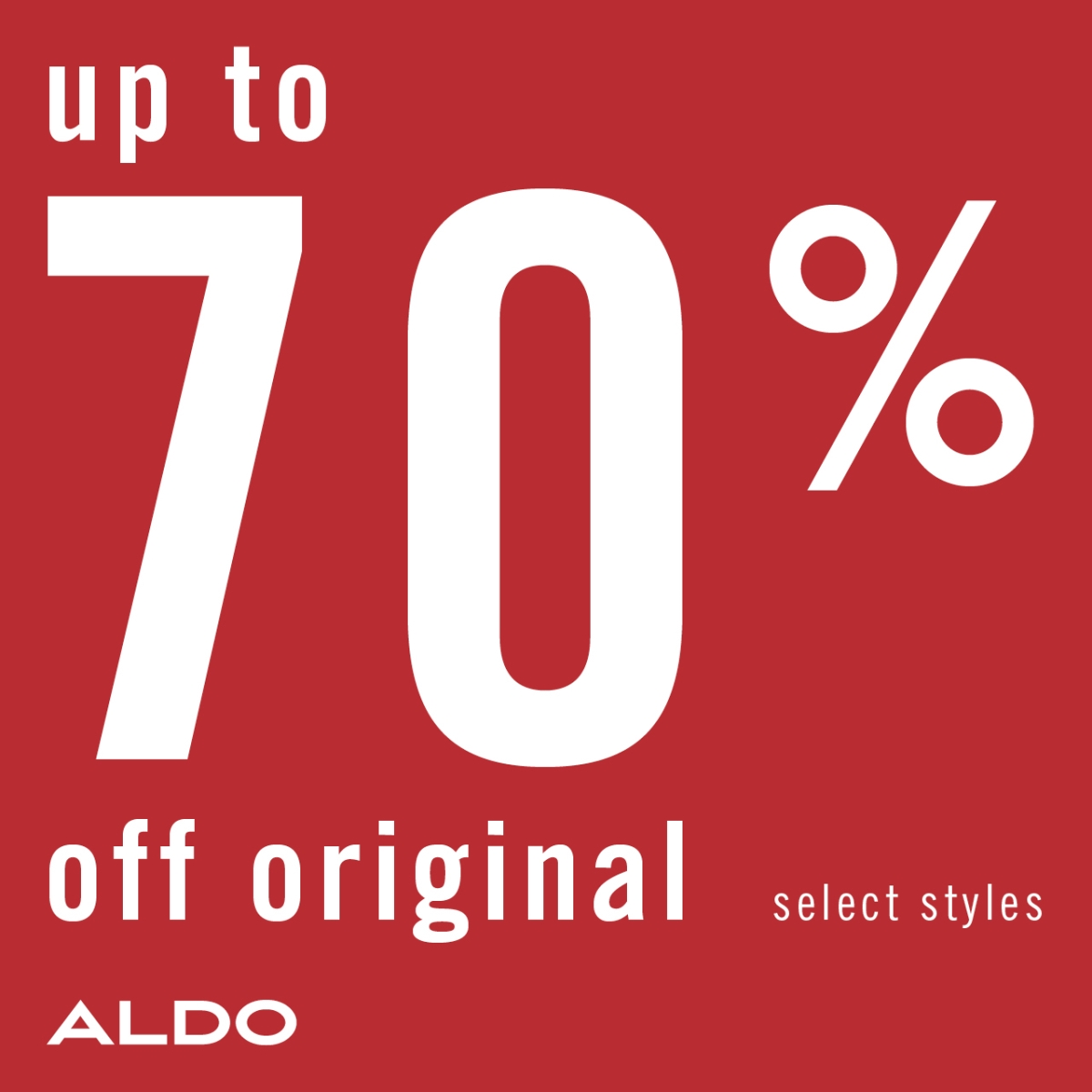 End of season sale! - Up to 70% off on sale.