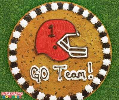 Game on! from Great American Cookie
