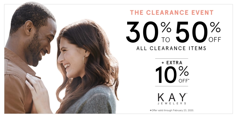 The Clearance Event from Kay Jewelers
