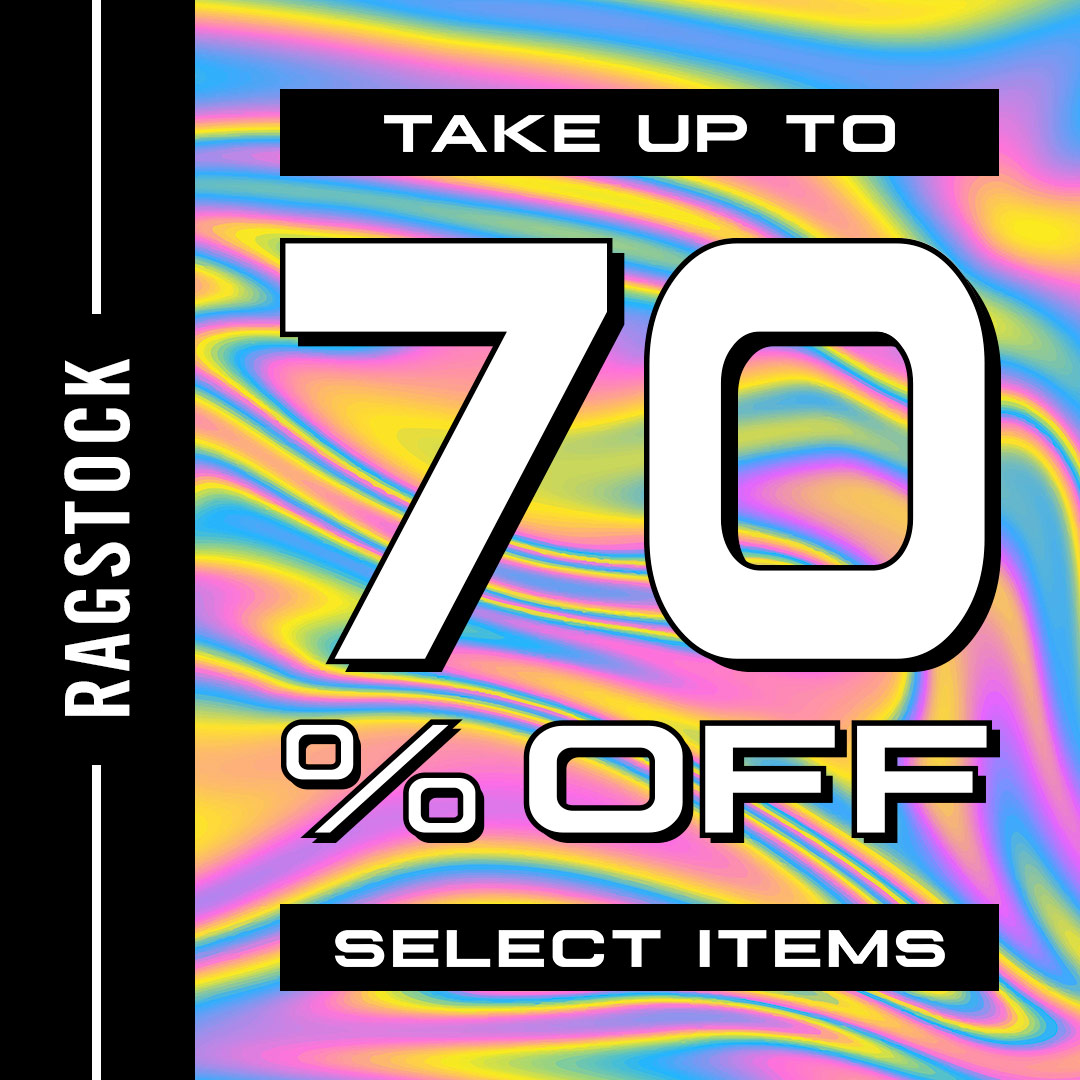 70% Off! from Ragstock