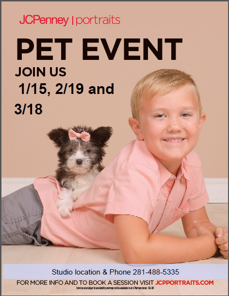 Pet Event from JCPenney