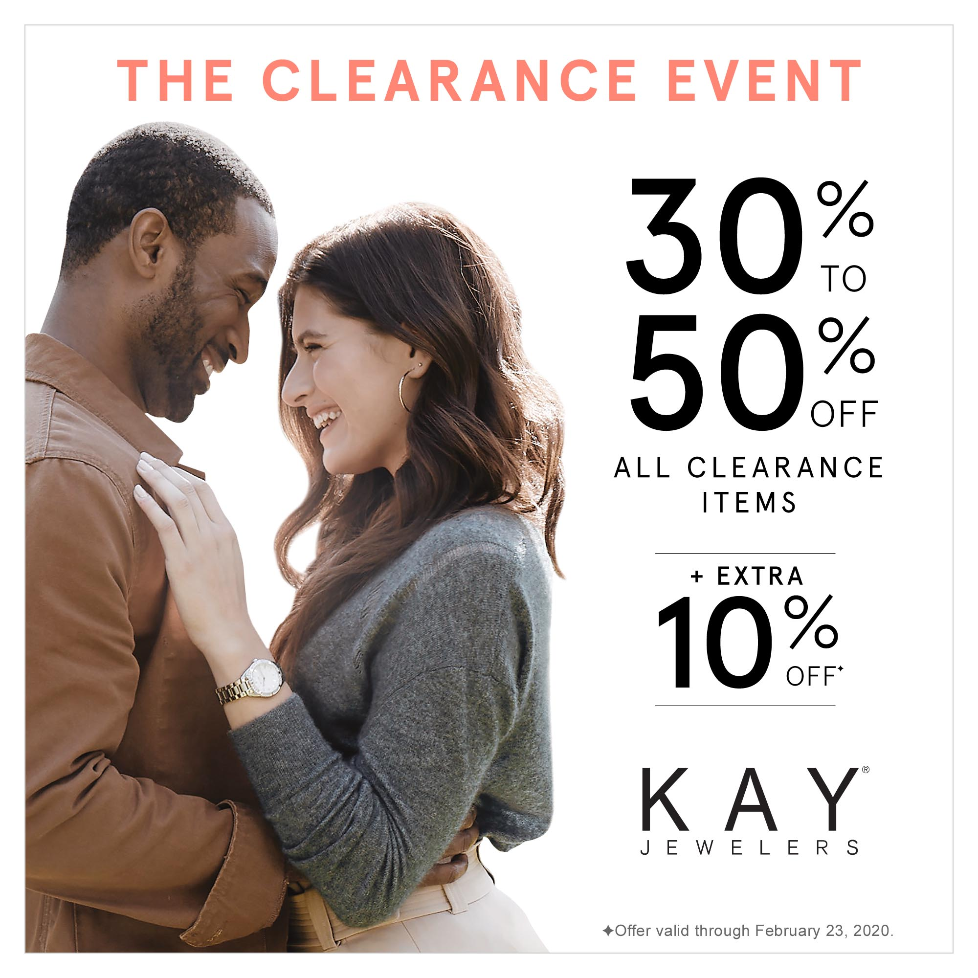 The Clearance Event! from Kay Jewelers