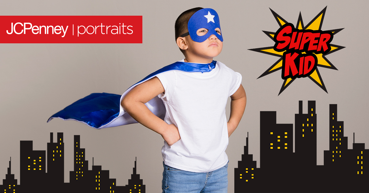 JCPenney Portrait Studio Super Hero Event